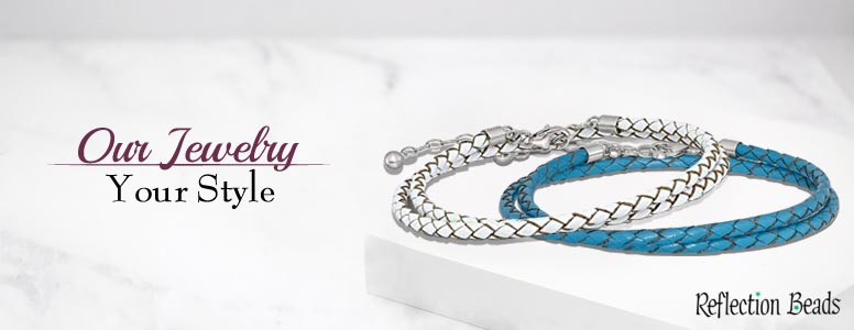 Reflections Teal Leather Bracelets At Grand Ledge Jewelers